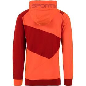 La Sportiva Magic Wood Bluza Mężczyźni, pumpkin/chili
